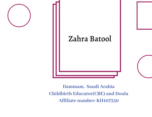 AMANI Birth Affiliate Spotlight: Zahra Batool